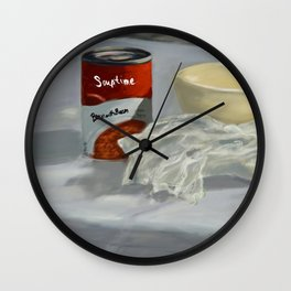 Bacon with Bacon DP170725a-14 Wall Clock