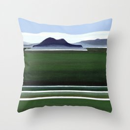 Somes Island - Matiu Throw Pillow