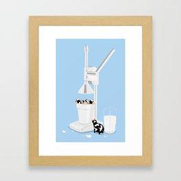 Milkmaid 5000 Framed Art Print