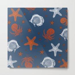 Maritime Vibes Metal Print