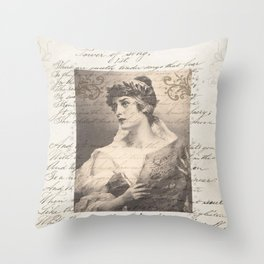Power Of Song Throw Pillow