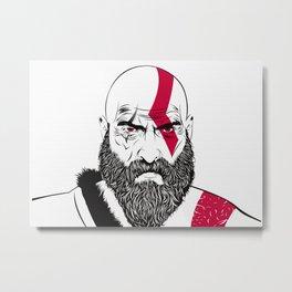 Old Kratos Metal Print