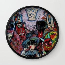 bruxo mouro Wall Clock