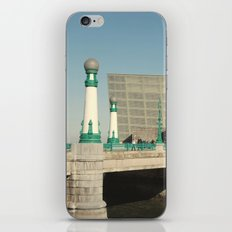 Kursaal Bridge iPhone & iPod Skin