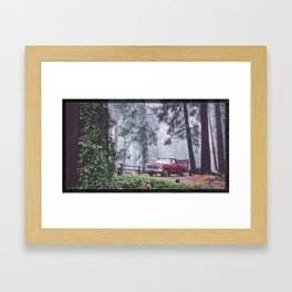 Mountain Living Framed Art Print