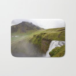 Iceland green Bath Mat