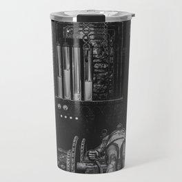 Frankenstein's Monster In The Lab Travel Mug