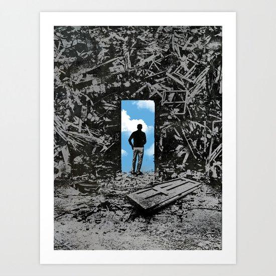 The Optimist Art Print