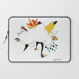 ED IN THE CLOUDS Laptop Sleeve
