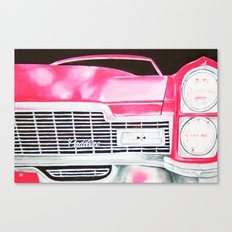 Pink Cadillac - Cotton Candy  Canvas Print