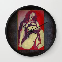 Graphic Poster Wall Clock