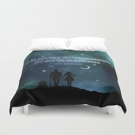 Cress and Thorne Duvet Cover