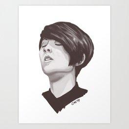 Tegan Quin Art Print