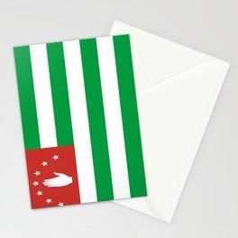 Flag Of Abkhazia Stationery Cards