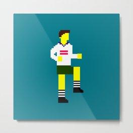 Soccer Mosaic Kit Metal Print