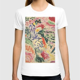 La Japonaise Woman beside the Water by Henri Matisse T-shirt