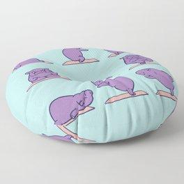 Baby Hippo Yoga Floor Pillow