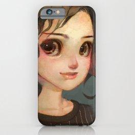 Subtle Smile iPhone Case