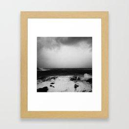 Shek-O Magical Place - sea of  the southeast tip Framed Art Print