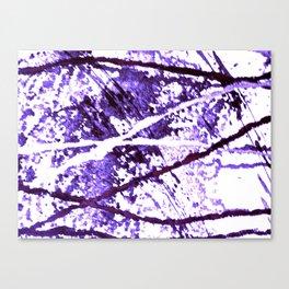 Purple Magic tetkaART Canvas Print