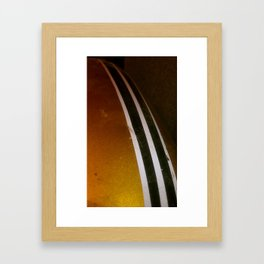 '72 Gas Tank Framed Art Print