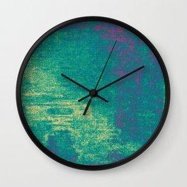 21-74-16 (Aquatic Glitch) Wall Clock