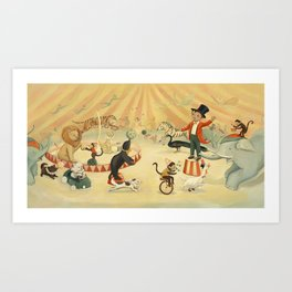 The Circus Dream by Emily Winfield Martin Art Print