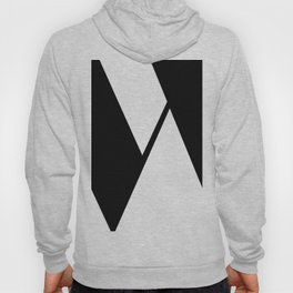 More than Shape / Capital Letter W Hoody