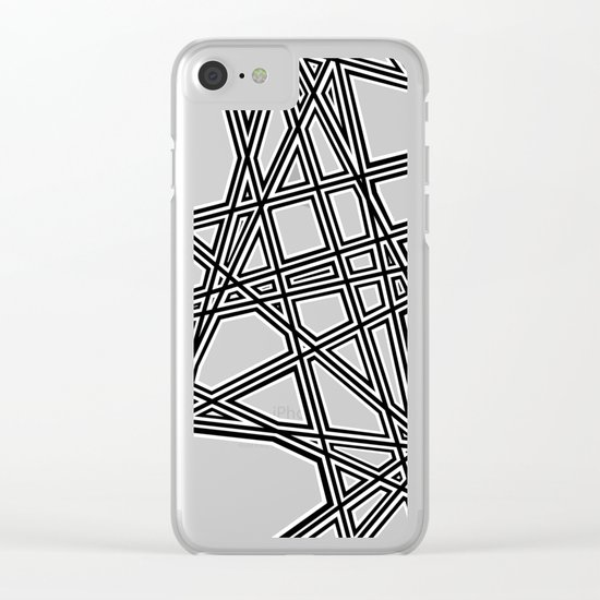 To The Edge #4 Clear iPhone Case