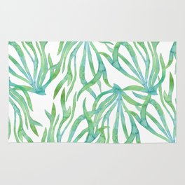 Green Seaweed Rug