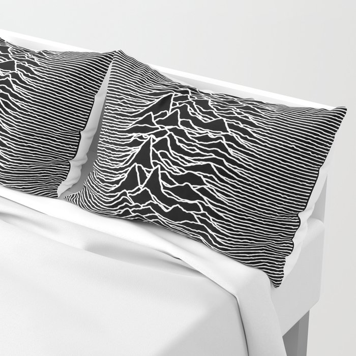 The Line Of Division Pillow Sham