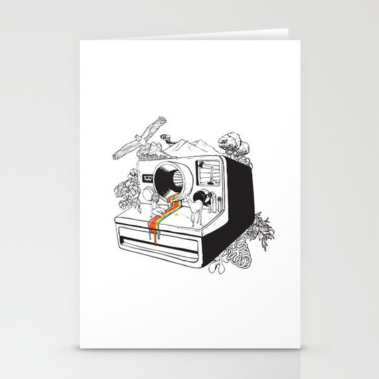 Captured Nostalgia Stationery Cards