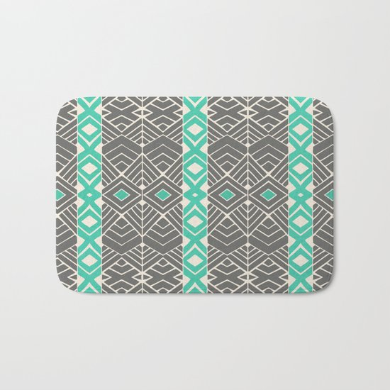 Going Tribal Bath Mat