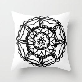 Abstract Bohemian Pattern Throw Pillow