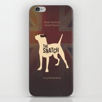 snatch iPhone & iPod Skins featuring The Snatch - Stealin' Stones & Breakin' Bones by Thecansone