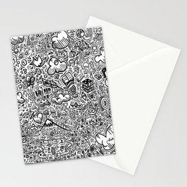 Crazy doodles Stationery Cards