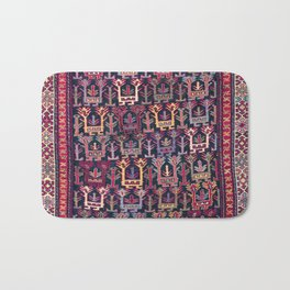 Khamseh Shahsavan Sumakh  Antique  Azerbaijan Persian Tribal Bag Face Bath Mat