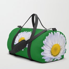 Colourful daisy flower Duffle Bag
