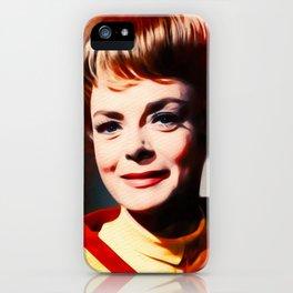 June Lockhart, Vintage Actress iPhone Case
