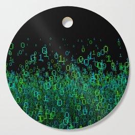 Binary Cloud Cutting Board