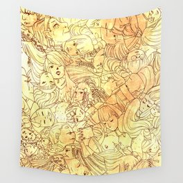 The Face of Many- Nomads Wall Tapestry