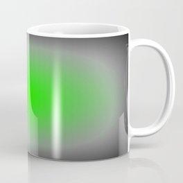 Green & Gray Focus Coffee Mug