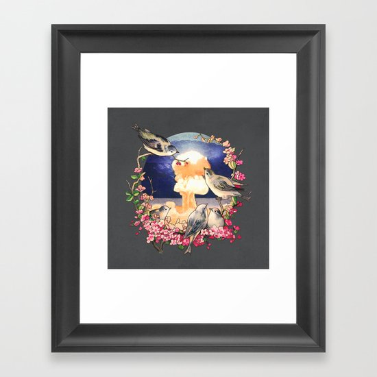 Second Sun  Framed Art Print