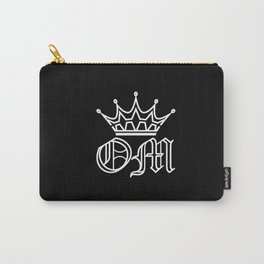 OXYMORON White on Black Carry-All Pouch