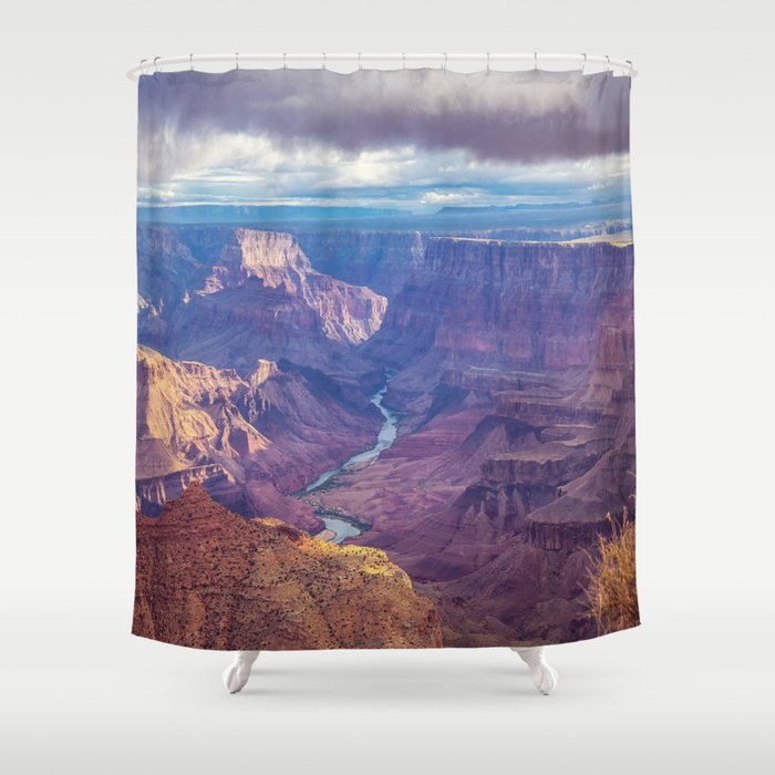 Grand Canyon And The Colorado River Shower Curtain