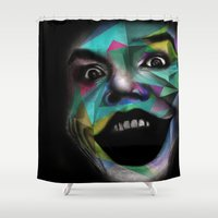 joker Shower Curtains featuring Joker by Urban Artist
