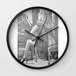 Kate Winslet 2 Wall Clock