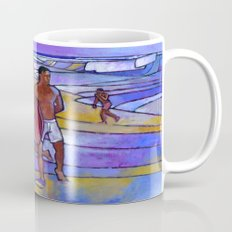 Boogieboarding at Sandy's Mug