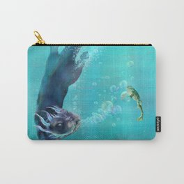 Whistling Finn the Bubble Herder Carry-All Pouch