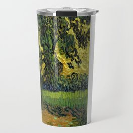 Vincent Van Gogh : Landscape at Twilight Travel Mug